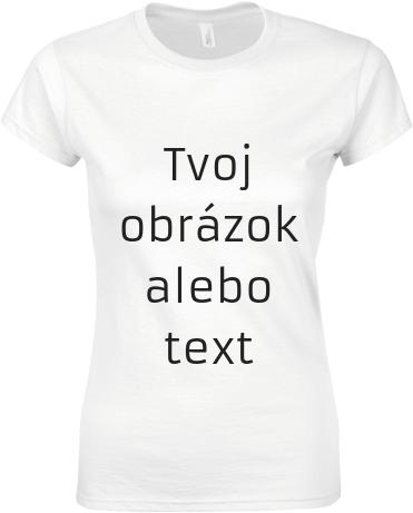 55f98a8725b9 Dámske tričko Gildan s možnosťou potlače